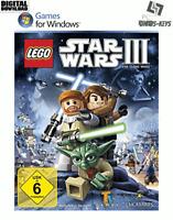 LEGO Star Wars III The Clone Wars Steam Download Key Digital Code [DE] [EU] PC