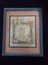 Home Interiors Homco Sleep Sweetly Vintage Picture New in Box Baby Child Angels