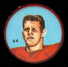 1963 CFL NALLEY'S FOOTBALL COIN #64 DON PAQUETTE MONTREAL ALOUETTES EX-NM