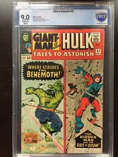 TALES TO ASTONISH #67 CBCS VF/NM 9.0; OW-W; classic Kirby cover!