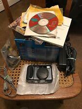 Sony Cyber-shot DSC-S85, Digital Camera w/ cords, literature, & box