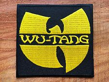 Wu-Tang Clan Embroidered Patch Sew Iron On Applique Hardcore hip hop Band Music2