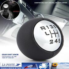 6 Levier de Vitesse Pommeau pr CitroenC3 C4 C8 Peugeot 307 308 3008 407 5008 807