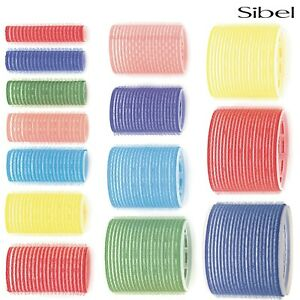 Sibel Professional Hair Cling Rollers For Curling/Styling No Pins Needed 13-80mm
