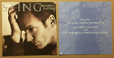 The Police Sting Rare 1996 Set of 2 Double Sided Promo Poster Flat 4 Mercury Cd