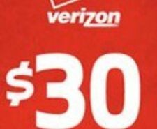 $30 Verizon Prepaid Monthly refill Direct Fastest Refill,7 DAYS Services