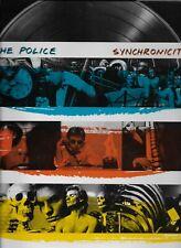 The Police Synchronicity popfolio