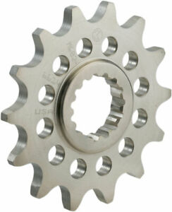 Moose Racing 520 15T Chromoly Steel Front Sprocket (Silver) 15-tooth M602-36-15