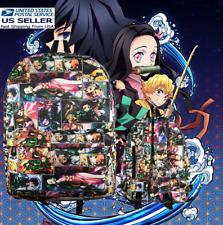 Anime Demon Slayer Backpack Computer Bag Mochila Schoolbag. Kimetsu no Yaiba