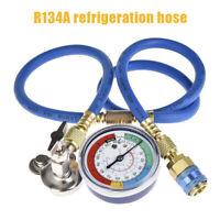 Auto Car A/C R134A Refrigerant Recharger Hose Low Pressure Gauge Durable Tool