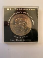 Royal Wedding Commemorative Crown SIX coins 1981.Charles & Diana.
