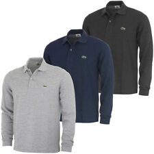 Lacoste Cotton Long Sleeve Polo Casual Shirts for Men