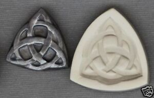 """Celtic Knot Design Hard Polymer Clay Mold 0 S/H AFTER 1 ITEM 25mm or 1"""" inch #3"""