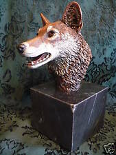 """""""RED WOLF"""" Pewter by Kitty Cantrell Legends LE# 147/950"""