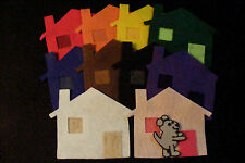 Felt/ Flannel Board Story - LITTLE MOUSE HOUSE COLOR game -preschool circle time