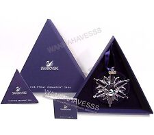 SWAROVSKI 2006 large annual snowflake ornament brand new in box with certificate