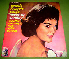PHILIPPINES:CONNIE FRANCIS SINGS NEVER ON A SUNDAY LP,Record,Vinyl,2ND,DYNA