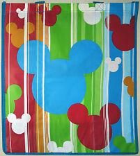 Disney Store Blue/Red MICKEY Large Ecology Reusable Shopping Bag New Tote w/ Tag