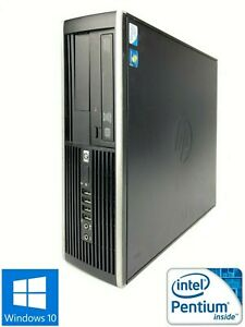 HP Pro 4000 SFF - 250GB HDD, Intel Pentium E6600, 4GB RAM - Win 10 Pro