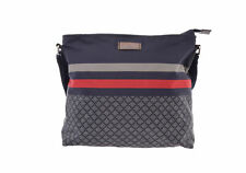 Gucci ティアマンテ Nylon Bag Navy Authentic 805000926558000