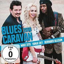 Mike Zito Vanja Sky Bernard Allison - Blues Caravan 2018 (NEW CD+DVD)