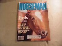 Horseman Magazine / March 1987 / Free Domestic Shipping