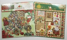 2 Carol Wilson Fine Arts Scrapbooking Kits - Tis' The Season & Christmas Quilts