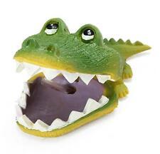 Aquarium Air Operated Crocodile Shape Bubbler Fish Tank Landscaping Ornament