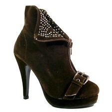 Work Medium (B, M) Width Slim Heel Boots for Women