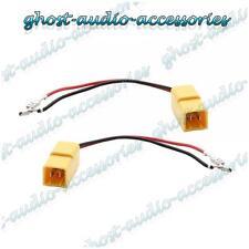 Pair of Speaker Connector Adaptor Lead Cable Plug for Alfa Romeo