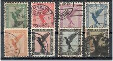Deutsches Reich 378 - 384 gestempelt ME 170 (708146)