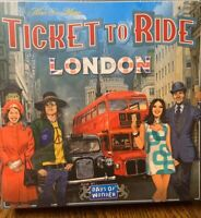 NEW, SEALED Ticket To Ride - London: Days Of Wonder Board Game Alan R Moon