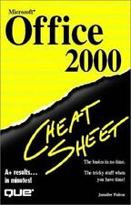 Microsoft Office 2000 Cheat Sheet, Fulton, Jennifer, Acceptable Book