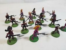 15 X Warhammer 40K Dark Eldar Drukhari Squadron Army very well painted