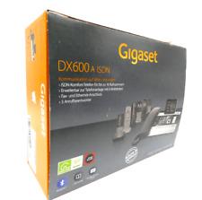 Gigaset DX600A ISDN & DECT Business Telefon mit 3 Anrufbeantwortern Titanium OVP