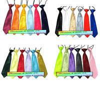 Kinder  Krawatte  Kinderkrawatte  uni  sehr viele Farben!!!    NEU