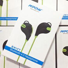 Mpow Swift Handsfree Bluetooth 4.0 Wireless Stereo Sport Sweatproof Earbuds