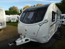 Swift 2 Axles Caravans 4 Sleeping Capacity