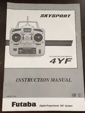 Skysport 4Yf 1M23N11402 Rc Airplane Controller Instruction Manual Only