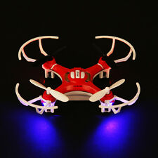A#S0 4 CH 4 Axis Nano RC Quadcopter Small Quad Mini Drone UFO R/C Helicopter Red