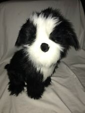 Pre Owned Melissa And Doug Life Like Border Plush Animal Collie Cuddle Dog *3*
