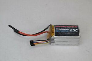 Thunder Power RC 1350mAh G6 Pro Lite 25C 22.2v 30Wh 6 Cell LiPo Drone Battery