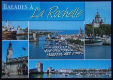 La Rochelle Charente-Maritime 5 view Postcard (P242)