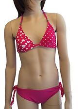 Girls Pink Heart Bikini/Swimwear. Ages 7-16Yrs