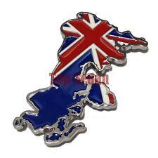 Metal Hood Front Grille Grill Badge Emblem For England UK Britain Car Mini