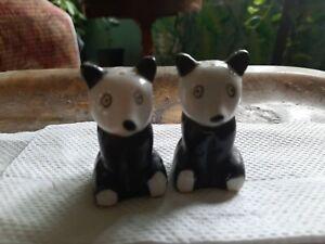 Panda Bears Salt and Pepper Shakers Hand Painted Vintage Made in Japan