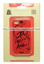 WHATEVER IT TAKES* For iPhone 4/4S Case SLASH Premium Tough GOD HELP US ALL Red