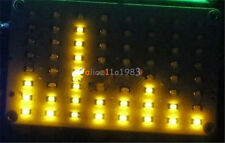 DIY Kit FFT 8x8 Audio Indicator Yellow FFT Voice Frequency Control LED Precise