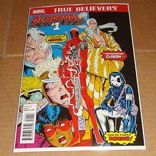 Marvel True Believers Deadpool #1 New Mutants #98 1st Print
