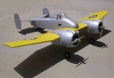 1/7 scale Grumman XF5F-1 Skyrocket Plans & Templates